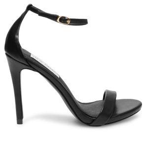 Steve Madden 'Stacy' Black Heels